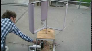 Vertical-Axis Wind Turbine - RPI