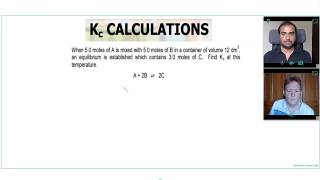 HOW to CALCULATE Kc for A Level Chemistry