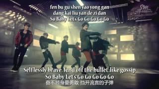 Super Junior M - Break Down MV Lyrics [ENG/ROM] HD