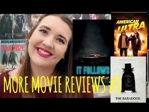 It Follows, American Ultra and More - More Movie Reviews #8