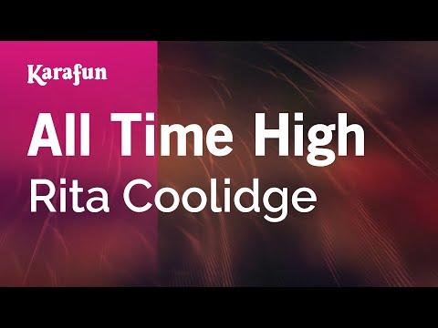 Karaoke All Time High - Rita Coolidge *