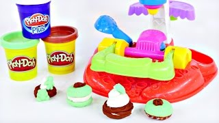 Play Doh Plus Flip N' Frost Cookies Cakes Playdough Sweet Shoppe Bakery Toy Galleta Plastilina Dctc