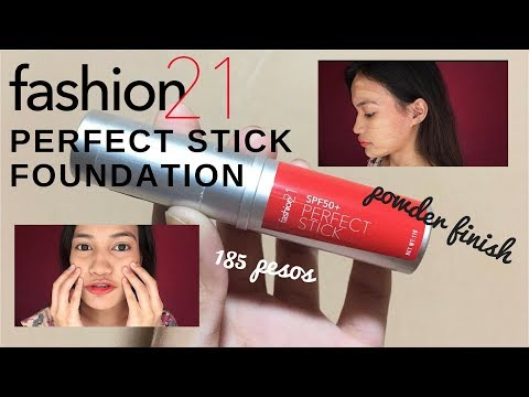 FASHION21 PERFECT STICK FOUNDATION  | Philippines