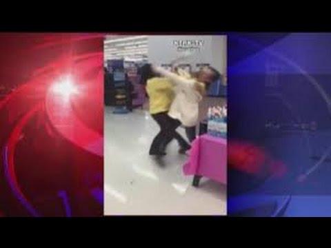 Walmart Jackson Hewitt Fight - YouTube
