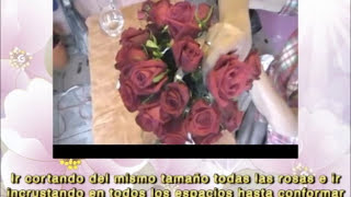 CENOCUP - 16. DISEÑO FLORAL DE CRISTALES ALTOS (TUBULAR)