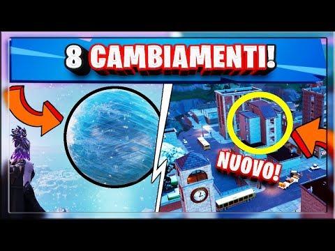 Fortnite Update: NUOVO EVENTO SFERA + PINNACOLI CAMBIATA! - 8 CAMBIAMENTI segreti Battle Royale!