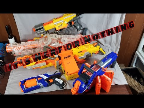 Loads of Nerf guns for $50 to sell on eBay