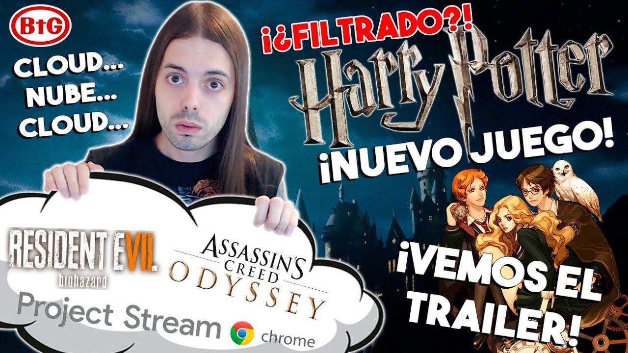 Filtrado Nuevo Juego De Harry Potter Capcom Quiere Mas Cloud