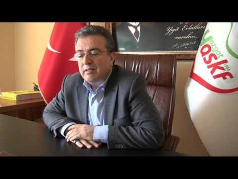 Osman Coşkun ASKF Ziyareti