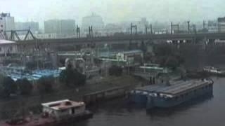 1991 大井競馬場前駅-浜松町駅 東京モノレール Oikeibajomae to Hamamatsucho 910905