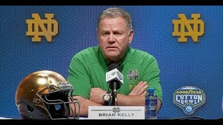 Highlight: Brian Kelly's Cotton Bowl press conference