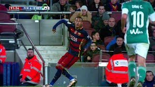 Neymar vs Real Betis (Home) 15-16 HD 720p - English Commentary