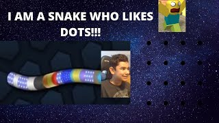 I AM A SNAKE WHO LIKES TO EAT DOTS(not roblox) Video