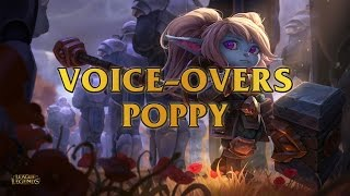 Poppy, Keeper Of The Hammer Voice Overs