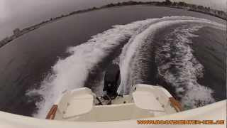 Testfahrt Quicksilver 500 Pilothouse mit 60 PS Mercury Bootscenter Kiel