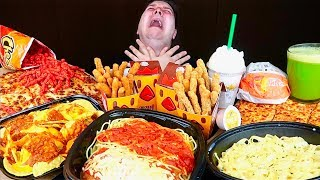 eating like trisha paytas for 24 hours