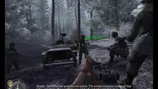 "Call of Duty United Offensive (PC) Walkthrough - Mission 1 ""Battle of Bulge"" 1/2 [HD]"