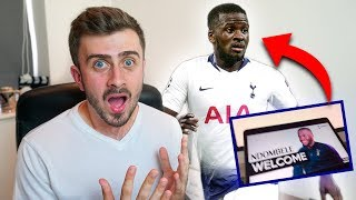 TANGUY NDOMBELE set to be ANNOUNCED by TOTTENHAM HOTSPUR?!