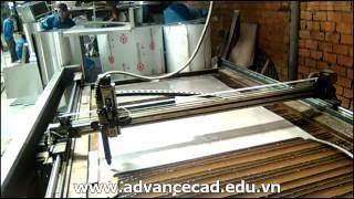 Thực hành cắt kim loại tấm trên máy cắt Plasma dùng Sheetcam