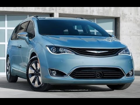 2018 Chrysler Pacifica Facelift  First Look  YouTube