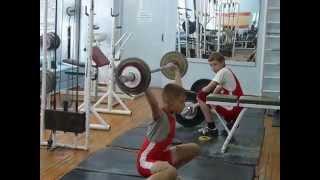 Тяжёлая атлетика Потёмкин Алексей, 13 лет, собст. вес 33.4 Рывок 27 кг