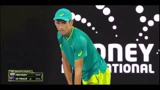 【テニス】A.デミノールvsD.メドベージェフ シドニー国際2018 決勝