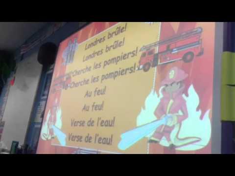 French London's burning