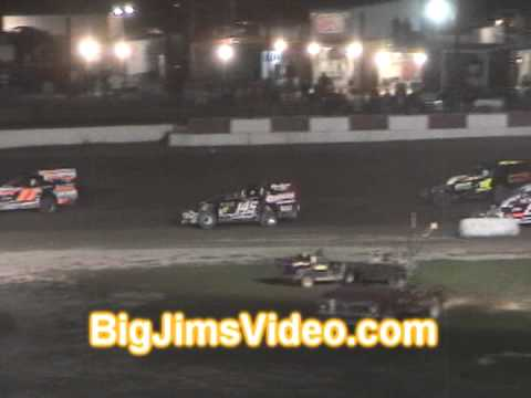 Penn Can Speedway Modified Feature highlights 8-16-13