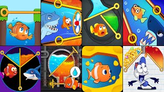 Fish Pin,Fish Rescue Pull Pin Puzzle,Save the Fish Game,Save The Fish,Save the fish Pull The Pin