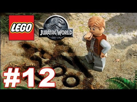 Lego Jurassic World Walkthrough Part 12 The Spinosaurus (Jurassic Park 3)