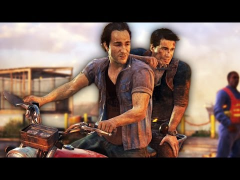 THAT WAS CLOSE!   Uncharted 4 - Part 5