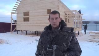 Отзыв о строительстве дома из бруса по проекту БД- 100.