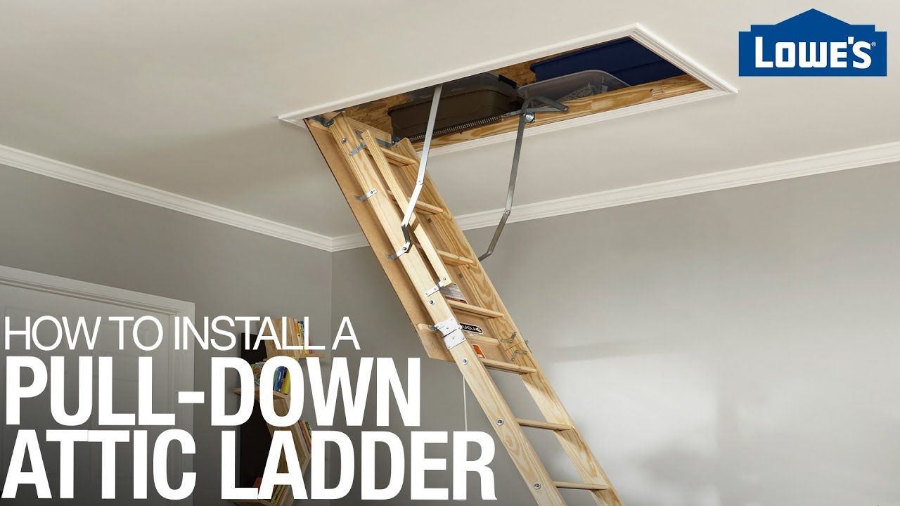 How To Install An Attic Ladder You