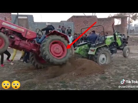 बडा हादसा Accident In Tractor Tochan Mahindra Vs Preet
