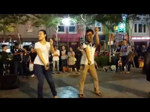 madu tiga-retmelo buskers cover p.ramlee,joget mantap