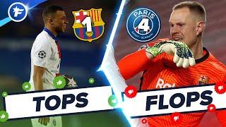 FC Barcelone-PSG (1-4) : Mbappé humilie le Barça, Ter Stegen à la rue | Tops et Flops
