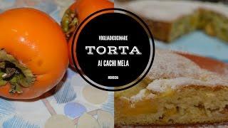 TORTA MORBIDA AI CACHI MELA - YouTube