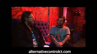 Mike Scheidt of Yob Interview with Alternative Control, 3/21/15 at the Gramcery Theater in NYC