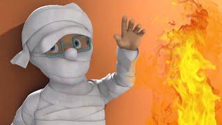 Пожарный Сэм на русском 🔥Норман Хэллоуин Мумия 🚒 Эпизоды Компиляция   Новые серии 🔥 мультфильм