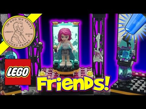 Lego Friends Pop Star Show Stage Set - Bonus Stop Motion!