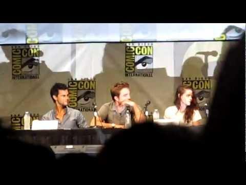 Breaking Dawn pt 2 comic con panel Hall H