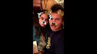 Ansel Elgort Newest Snapchat Video Ft Violetta Komyshan