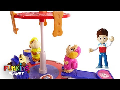 Paw Patrol Skye, Chase & the Pups In Training Game Dog Bones - Learning Colors Videos For Kids