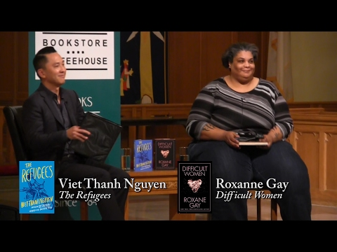 Roxane Gay and Viet Thanh Nguyen at St. Paul's Church