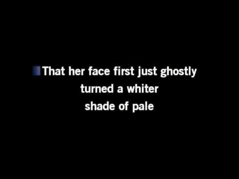 Whiter Shade Of Pale ~ Cover by Charlie Bradshaw, AKA Luke Tanner