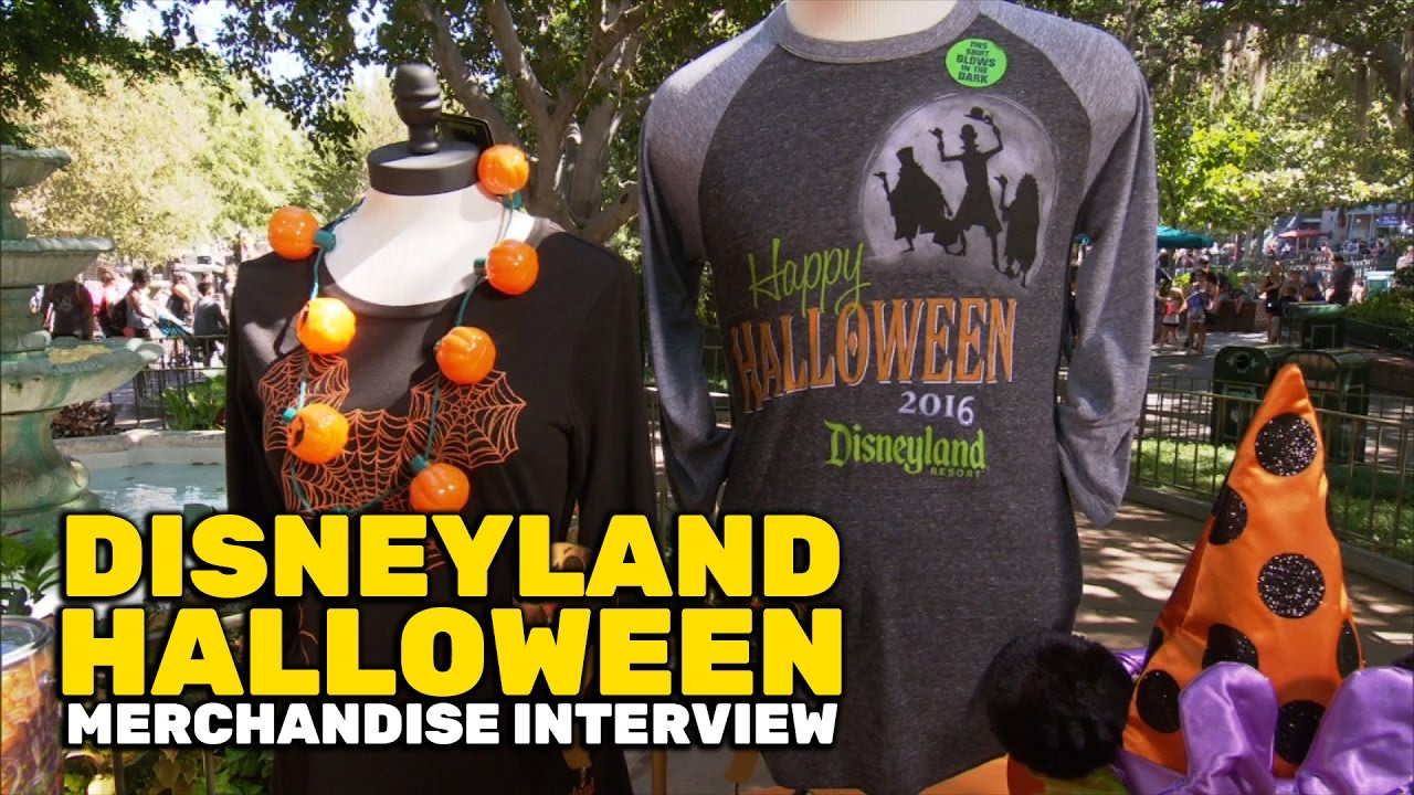 halloween merchandise 2016 interview in new orleans square at disneyland