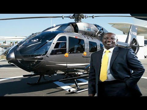 Image result for A chopper worth Ksh 300 million william ruto