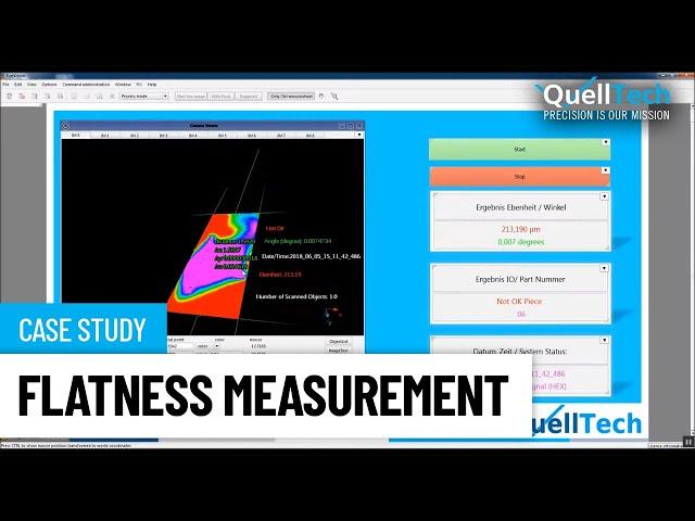 Flatness (Ebenheit) Measurement of Very Thin Plate
