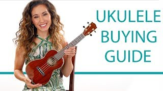 Ukulele Buying Guide - Comparing Sizes, Prices, Brands, and Tones