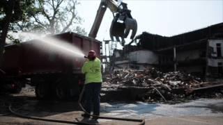 Old Lincoln School demolition video update